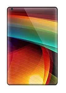Ideal SusanBurns Case Cover For Ipad Mini/mini 2(colorful Curves), Protective Stylish Case