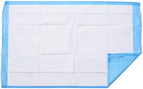 "Disposable Underpads 34""x22"" Incontinence Bed Covers Pads Pet Training Ultra Thick by P&P Medical Surgical Super Absorbent & Waterproof Protection for Kids Infants Adults Elderly Baby (60)"