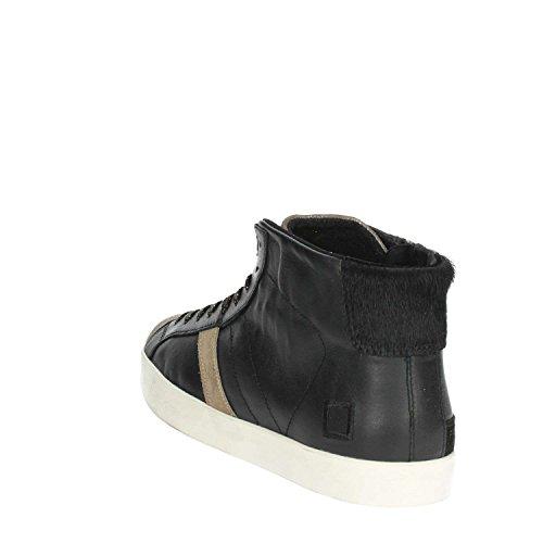 D.a.t.e. I17-40 Hoch Sneakers Damen Schwarz