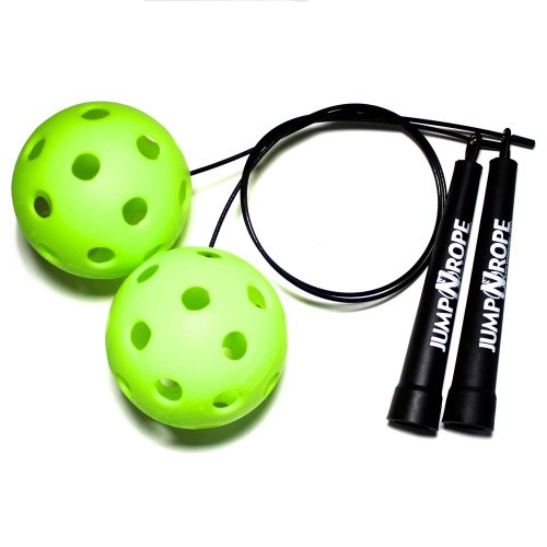 Speed Balls Jump Rope Symmetry and Strength Trainer by JumpNrope (SB-Std)
