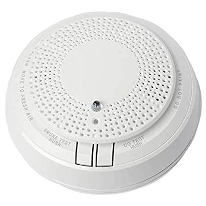 Image of 5800COMBO 	Wireless Combination Photoelectric Smoke/Carbon Monoxide (CO) Detector for use with Honeywell's 5800 Series