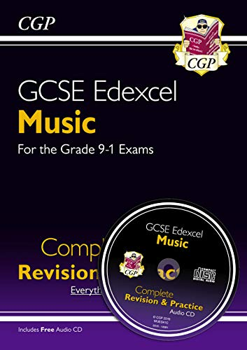 New GCSE Music Edexcel Complete Revision & Practice (with Audio CD) - For the Grade 9-1 Course (Cgp Gcse Music Complete Revision And Practice)