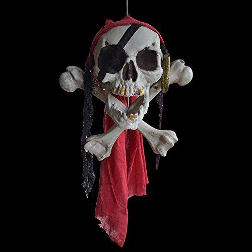 Global Brands Online Halloween Buccaneer Secrets Escape Haunted House Decorated Terror Skull Bone One-Eyed Pirates
