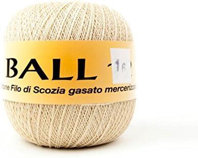 woolove Ball 16 – 100% algodón Egipcio Mako 100 g: Amazon.es: Hogar