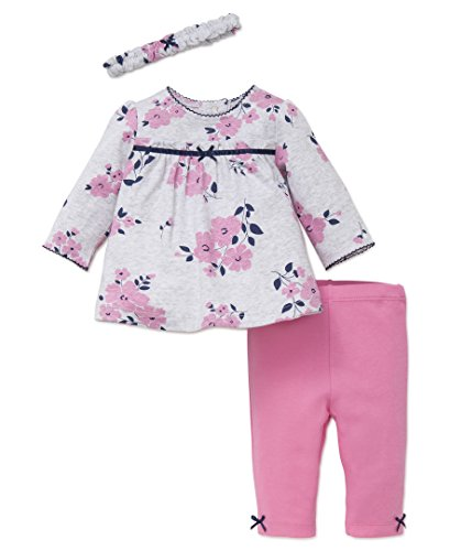 5021f142e2cfa Little Me Baby Girls' 3 Piece Tunic and Legging Set with Headband - Buy  Online in Oman.   Apparel Products in Oman - See Prices, Reviews and Free  Delivery ...