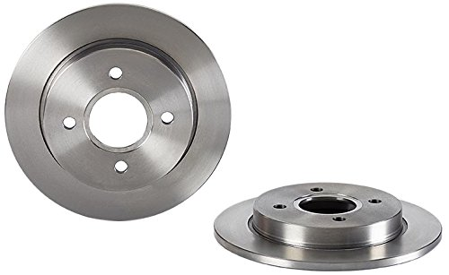 Brembo 08.4931.24 Rear Brake Disc - Set of 2