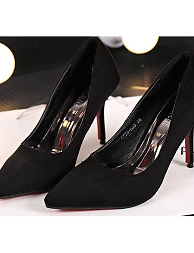 GGX/Damen Schuhe Fleece Sommer Heels Heels Casual Stiletto Heel andere schwarz/rot/grau red-us5.5 / eu36 / uk3.5 / cn35