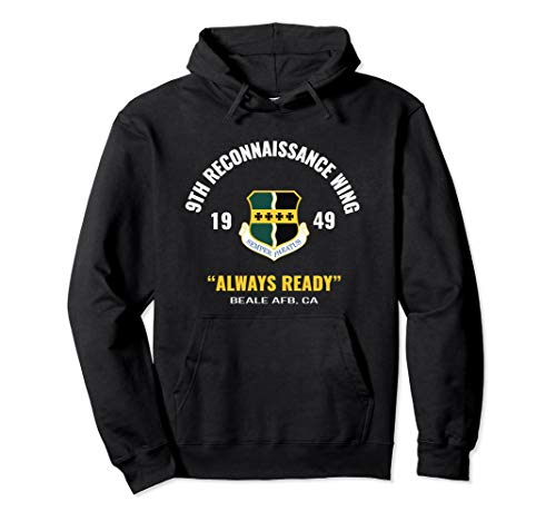 Air Force 9th Reconnaissance Wing Hoodie