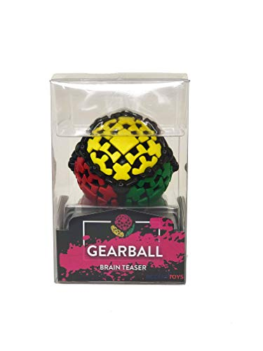 GEAR BALL by Mefferts- Speed Cube, 3x3 Speed Cube, One-player Games, Brain -