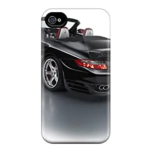 Awesome Design Porsche 911 Turbo Techart Cabriolet 2008 Hard Case Cover For Iphone 4/4s