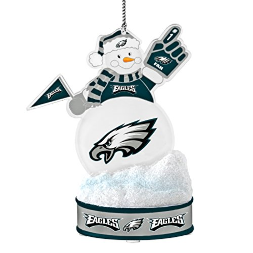 NFL Philadelphia Eagles LED Snowman Ornament Nfl Football Snowman Ornament