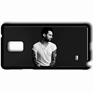 Personalized Samsung Note 4 Cell phone Case/Cover Skin Adam Levine 2013 Celebrities Black