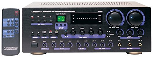 VocoPro  DA-8909RV 360W Professional Digital Key Control Mixing Amplifier w/Vocal Enhancer