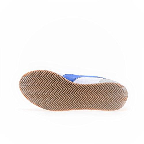 Diadora Heritage - Zapatillas de ante para hombre Bianco/Blu/Grigio Cenere