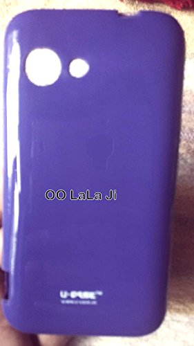 the latest eb101 f336d Purple Glossy Premium Back Cover For Micromax Bolt A79: Amazon.in ...