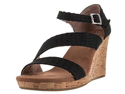 toms-womens-black-textile-cork-clarissa-wedges-7