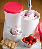 StarPack Home Ice Cream Freezer Storage Containers