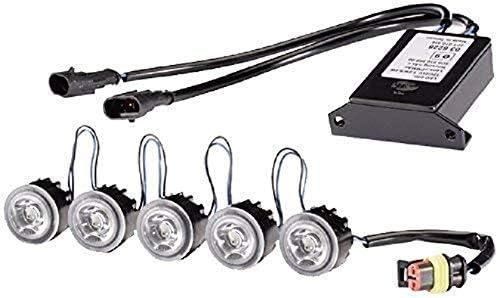 Ledayflex Led Hella 2Pt 010 458-701 Kit De Feux Diurnes 12V//24V