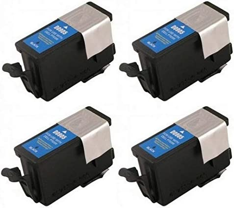 Series 20 SuppliesMAX Compatible Replacement for Dell P703W Black Inkjet 4//PK 330-2396/_4PK