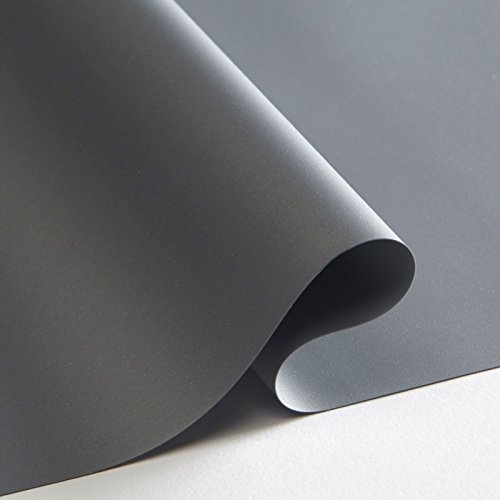 Screen Material High Grey Contrast - Carl's DIY ALR Ambient Light Rejecting Projector Screen Material (16:9 | 93x166-in | 189-in Diag. | Rolled) 4K Ultra HD Ready, Front Projection, High Contrast Gray/Grey Cut Cloth, Active 3D, 1.5 Gain