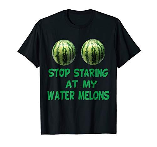 Funny Water Melon Boobs Tshirt Sarcastic Halloween Boobies for $<!--$13.95-->