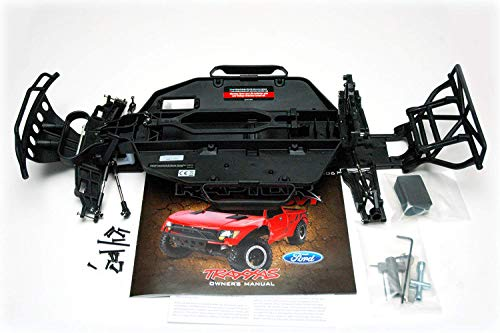 (Traxxas Slash Raptor Dakar 2WD Pre-Roller Black Conversion Chassis)