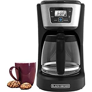 Amazon.com: Black & Decker 12-cup Programmable Coffee Maker, Cm2030b: Kitchen & Dining