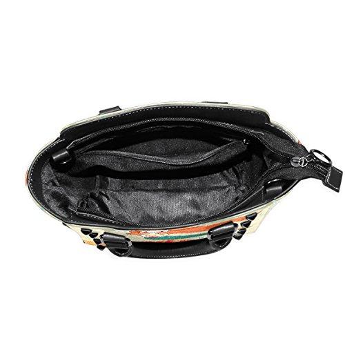 In Leather Cute Love Handbags Tote Shoulder Women's Mermaid TIZORAX Bags YqdwnEY