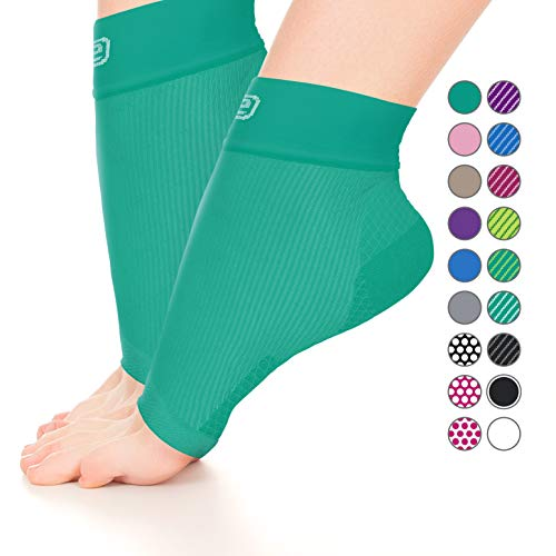 - Plantar Fasciitis Sock, Compression Socks for Men Women-Best Ankle Sleeve for Arch Support, Injury Recovery, and Prevention-Relief Joint and Foot Pain, Swelling, Achy Feet(Solid Green, Small)