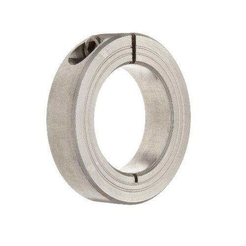 Big Bearing SSCS47X2-15/16 Single Split Shaft Collar, 2-15/16'' Bore Size, 4-1/4'' Outside Diameter, 7/8'' Width, Stainless Steel
