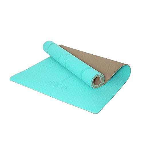 JD doppelseitig rutschsicheren Umweltfreundliche Yoga Matten