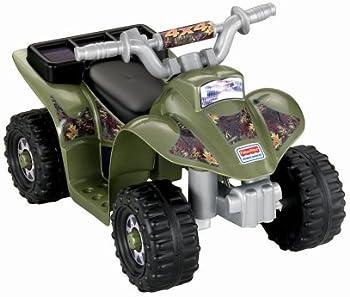 Fisher Price Power Wheels Lil Quad 6V ATV Ride On