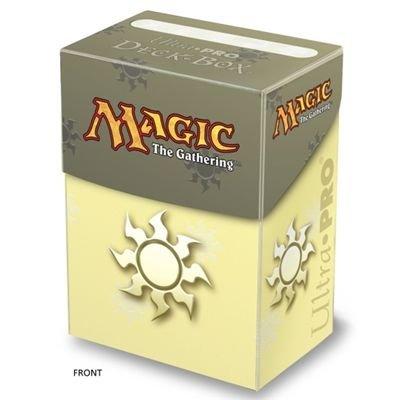 Deck Box: Magic the Gathering: Mana White