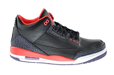 air jordan 3 black crimson