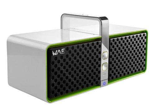 Hercules Wireless Bluetooth Speaker (White/Green) 4769181