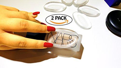 (Derma Roller Kit .25mm + 100% Pure Silicone Make up Sponge Applicator Beauty Blender compare to Silisponge)