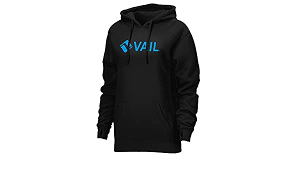 Ouray Sportswear Womens Vail Resort Spirit Hoodie Black Large Ouray Outdoors 84000-Vail