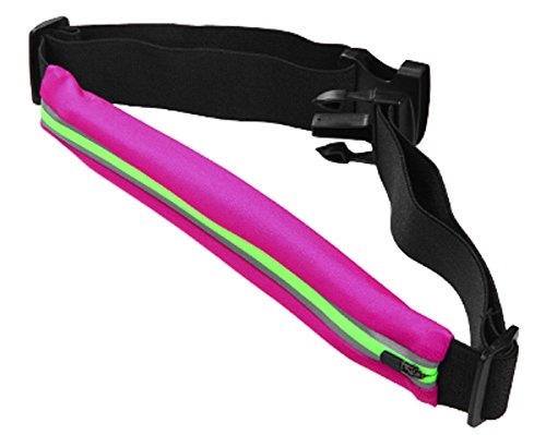 Price comparison product image Avarious Waist Pack Belt Travel Case, Pink/Green