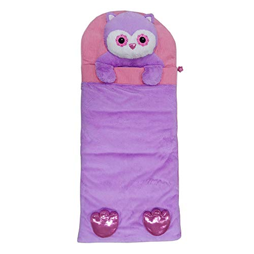 (Hugfun Animal Slumber Bag (Pink Owl))