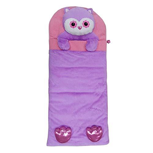 Hugfun Animal Slumber Bag (Pink Owl)