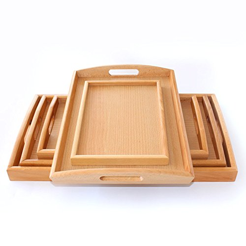 Wuyngg The Hotel Supplies Rectangular Wooden Pallets Pallet,Lug Pallet  49 5*28 5*4Cm