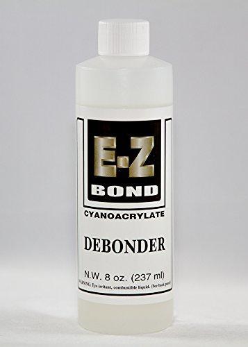 E-Z Bond Cyanoacrylate Debonder Refill 8 Oz