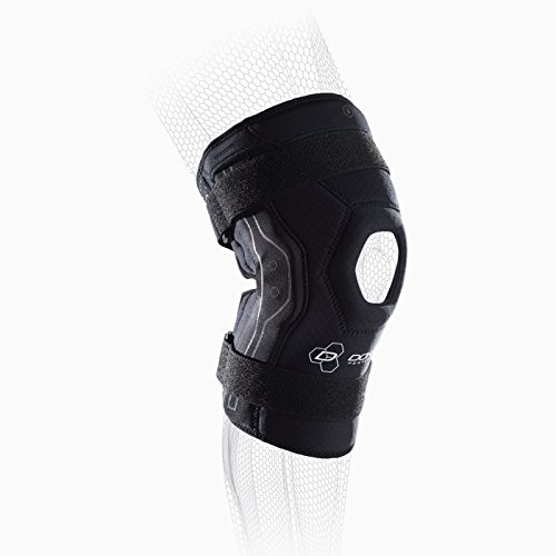 DonJoy Performance BIONIC Knee Support Brace: Black, Large by DonJoy Performance