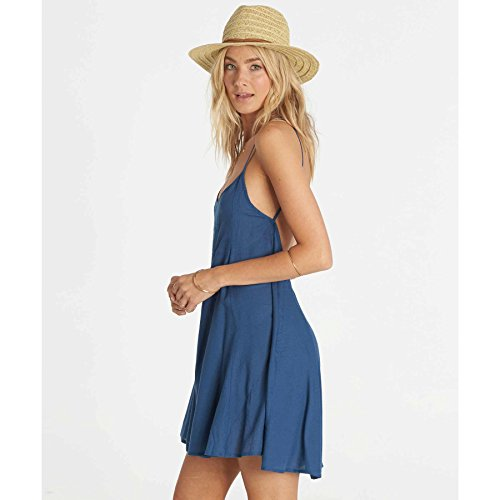Billabong Junior's Its Me Open Back Woven Dress, Seaside,...