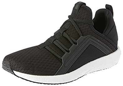 PUMA Men's Mega Nrgy Shoes, Black Black Black, 9 US