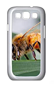 Bee 2 Animal Polycarbonate Hard Case Cover for Samsung Galaxy S3 I9300¨C White