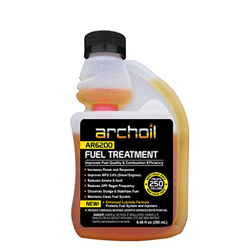Archoil AR6200 (8oz) Fuel Treatment – Treats 250 Gallons – Diesel Additive/Fuel Additive