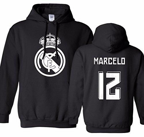 quality design fc0d8 fb817 Tcamp Real Madrid Shirt Marcelo Vieira #12 Jersey Men's ...