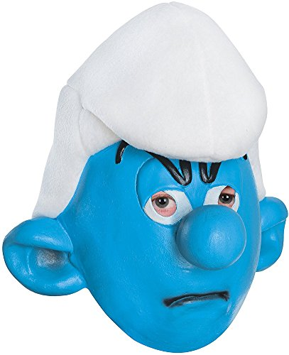 Rubie's Costume Men's Adult Masks, Grouchy, Smurfs: The Lost Village]()