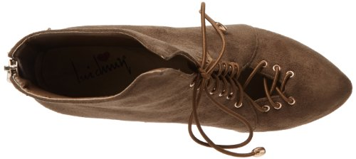 Luichiny Womens Rose Anna Bootie Army